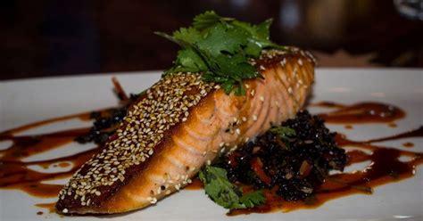 food cuisine du monde recette de saumon marin 233 au gingembre sauce cr 232 meuse chili