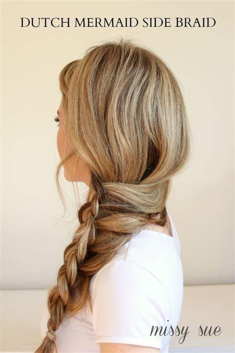 16 side braid hairstyles pretty long hair ideas styles