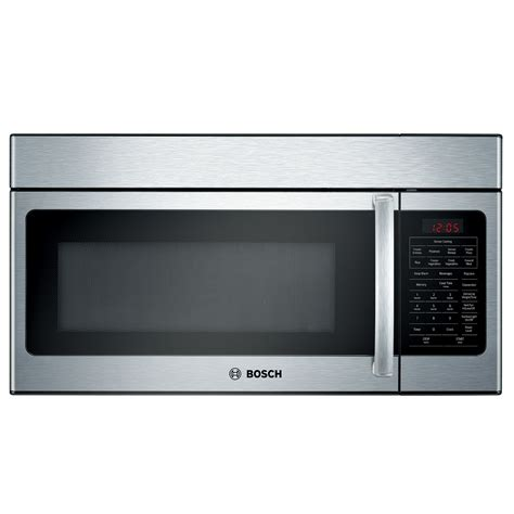combo microwave and oven bosch hmv8051u 30 quot 1 5 cu ft microhood combination