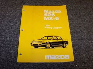 1996 Mazda 626 Sedan  U0026 Mx6 Coupe Electrical Wiring Diagram