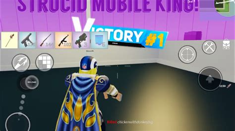 strucid zone wars mobile king youtube