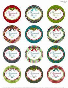 Printable Christmas Labels For Homemade Baking