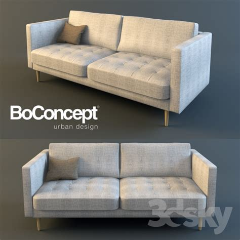 Sofa Furniture Image by 3d Models Sofa Boconcept Osaka Double