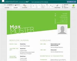 Lebenslauf Online Bewerbung : lebenslauf vorlagen muster und beispiele ~ Orissabook.com Haus und Dekorationen