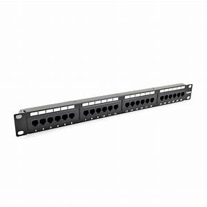 Securitynet Patch Panel Cat 5e Utp 24