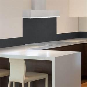 Credence Fond De Hotte : cr dence de cuisine en aluminium gris anthracite fond de ~ Dailycaller-alerts.com Idées de Décoration