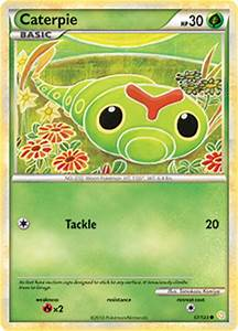 Caterpie | HeartGold & SoulSilver | TCG Card Database ...