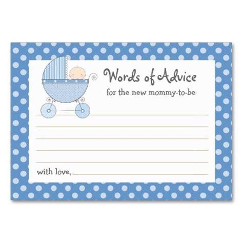 babyshowermommyadvicecards baby shower advice cards
