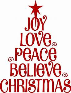 love joy christmas wall lettering sticker vinyl words With merry christmas vinyl lettering