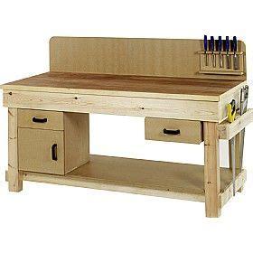 redditek standard timber workbench  workshop