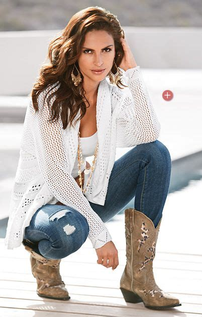 Outfits With Cowboy Boots And Jeans