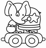 Circo Colorear Colorir Elefante Coloring Circus Coloriage Ausmalbilder Cirque Dibujos Cirkus Tren Dessins Colorare Desenho Malvorlagen Atividades Colorier Disegni Sirkus sketch template
