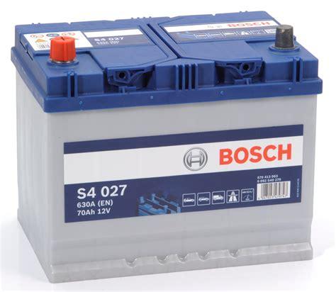 Batterie Car by S4 027 Bosch Car Battery 12v 70ah Type 069 S4027 Car