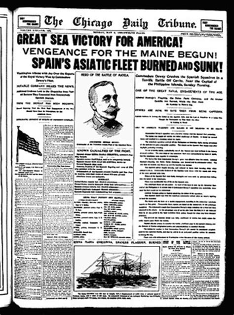 uss maine sinking newspaper the american war task