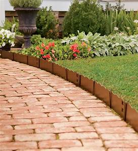 Lawn Garden Border Edging Ideas Design Idea With A