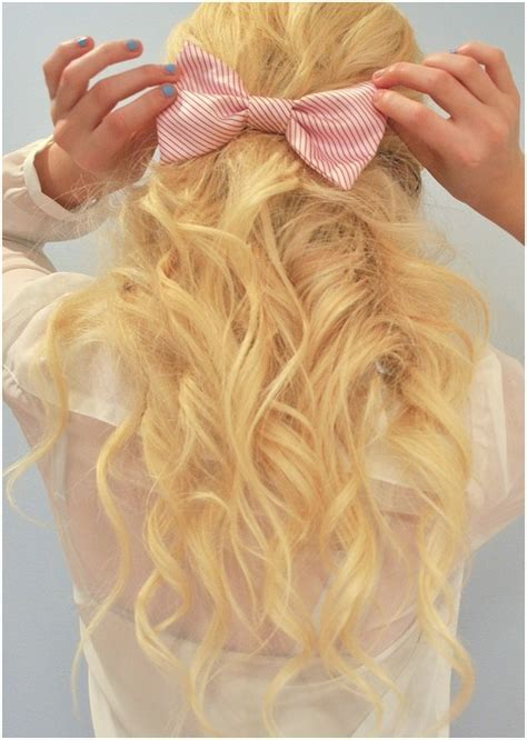 cute blonde long hair  girls curly hairstyles popular haircuts