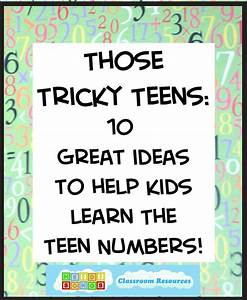 17 Best images about Teach >> Teen Numbers on Pinterest ...