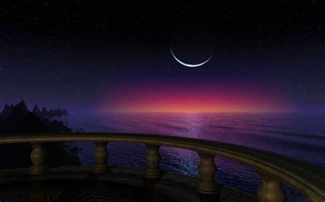 sea night wallpaper hd resolution xaq