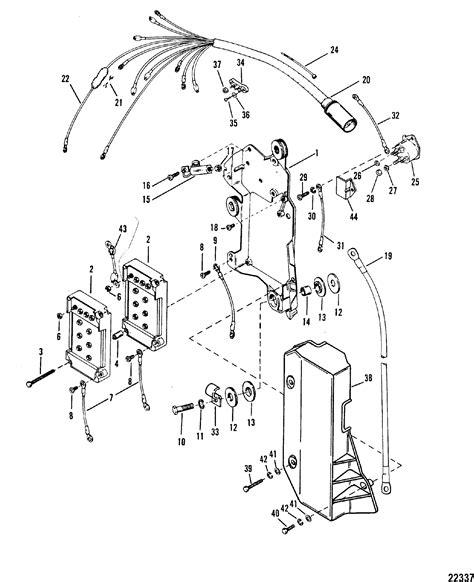 Mercury Solenoid Wiring by Wiring Harness Starter Solenoid For Mariner Mercury 175