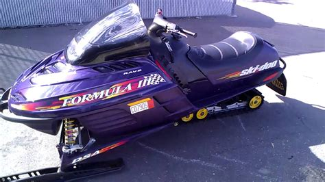formula 3 skidoo 1998 ski doo formula iii 600 youtube