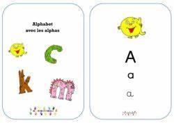 Taille Des Althéas : alphabet en 3 critures avec les alphas mc en maternelle ~ Nature-et-papiers.com Idées de Décoration
