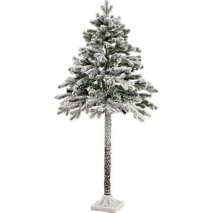 homebase christmas trees 5ft half tree with snow at homebase be inspired and make your house a home buy now