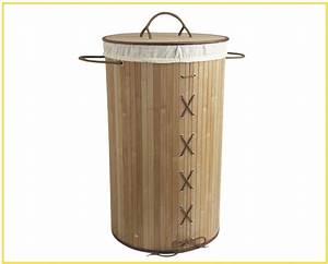 Panier à Linge Bambou : tri du linge sale votre bac linge chez ~ Dailycaller-alerts.com Idées de Décoration