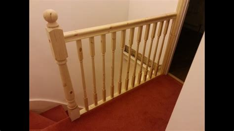 banister top how to replace banister newel post handrail and spindles