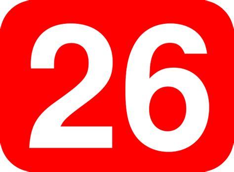 Twenty Six Number · Free Vector Graphic On Pixabay