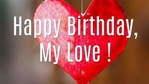 Happy Birthday Love Images HD   Birthday wish for husband ...