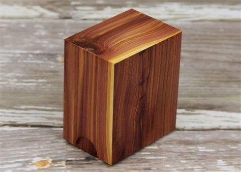 Custom Wooden Mtg Deck Boxes by Magic The Gathering Custom Quot Aromatic Cedar Quot Deck Box