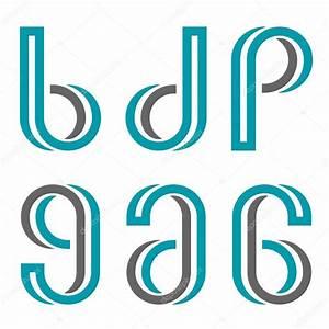 ozdobne litery i cyfry grafika wektorowa c happyroman With decorative letters and numbers