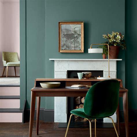le bureau verte couleur vert
