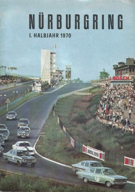 nuerburgring magazines  motor racing programme covers