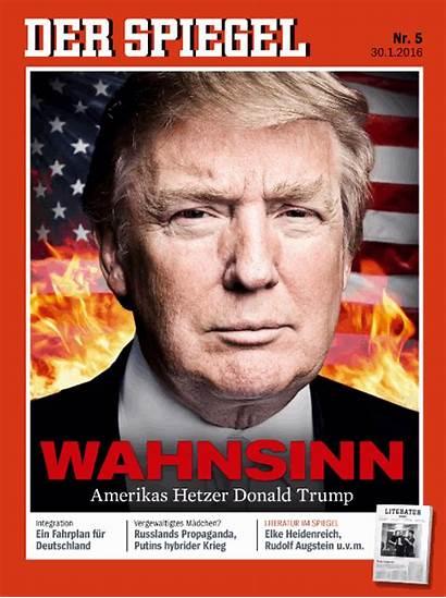 Trump Donald Spiegel Der Magazine Covers Flames
