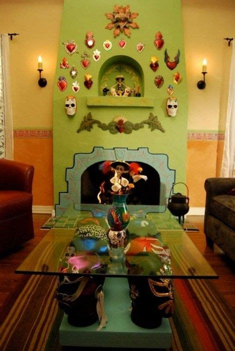 mexican themed home decor mexican inspired living room my mexican chris jamottez kitsch