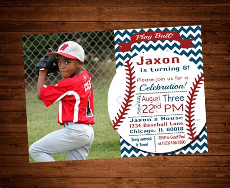 22 Baseball Birthday Invitation Templates Psd Word Ai