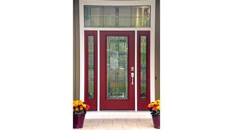 therma tru residential fiberglass entry doors undergo