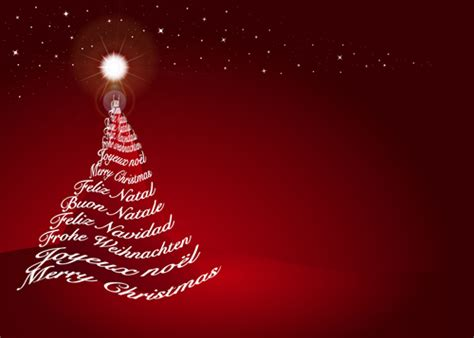 red style christmas background art vector