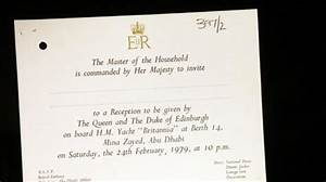 16 an invitation to dinner with queen elizabeth in abu With wedding invitation cards abu dhabi