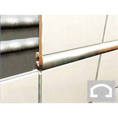 Tile Trim by Chrome 10mm Listello Tile Trim Wet Room Supplies