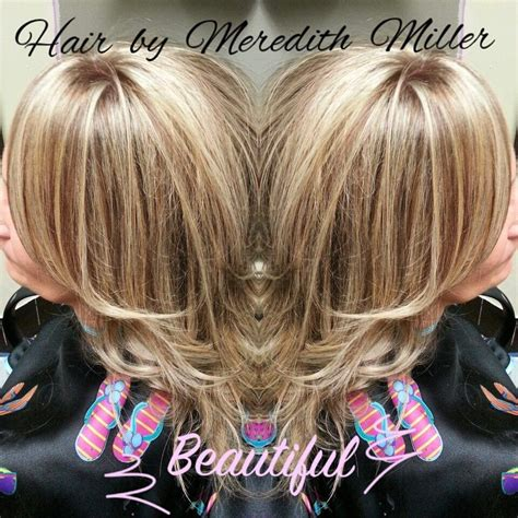 blonde  sable lowlights   cover gray hair
