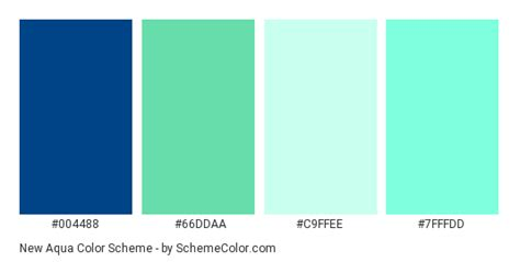 Color Schemes Aqua by New Aqua Color Scheme 187 Aqua 187 Schemecolor