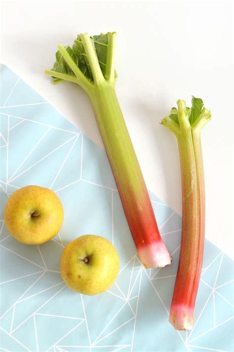 cuisiner des pommes crumble pomme rhubarbe vegan sans gluten sour