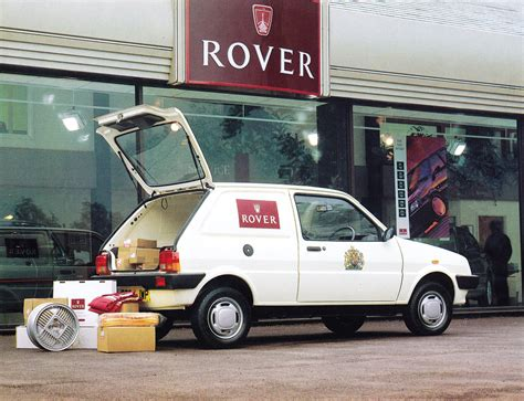 rover metro van advert classics world