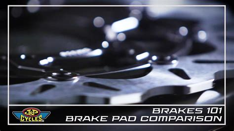 Different Types Of Motorcycle Brake Pads