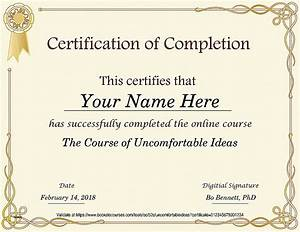 cpe certificate of completion template choice image With cpe certificate template