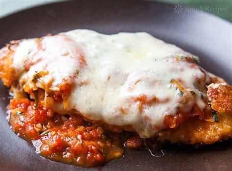 parmesan chicken easy chicken parmesan recipe simplyrecipes com