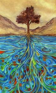 Tree of Life, painting - cute-tattoo
