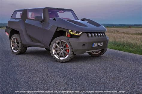 lamborghini hummer hybrid car shows 2014 hummer rhino concept